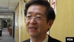 台湾外交部亚太司副司长周颖华(美国之音申华拍摄)