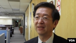 台灣外交部亞太司副司長周穎華(美國之音申華拍攝)