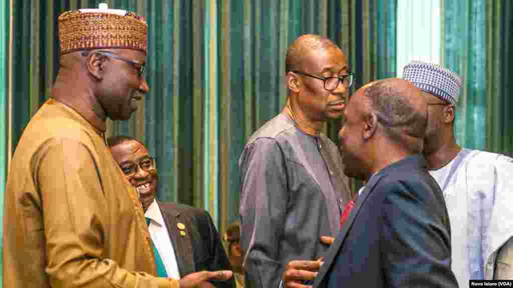 Mahalarta taron majalisar ministoci a Najeriya, Abuja.