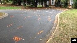 На месте трагического происшествия. Шарлотт, Северная Каролина. 21 сентября 2016 г.