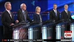اولین مناظره نامزدهای حزب دموکراتها آمریکا برگزار شد