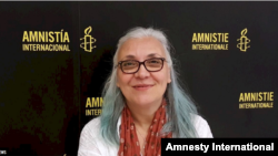 Idil Eser, the director of Amnesty International's Turkey office, in seen in this Amnesty International photo.