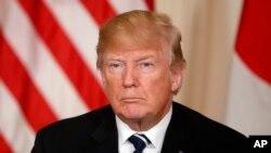 سەرۆکی ئەمەریکا دانۆڵد ترامپ