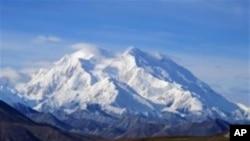 Monte McKinley, la montaña más alta en Norteamérica, en Alaska, volvió a llamarse Denali por decisión del presidente Barack Obama.