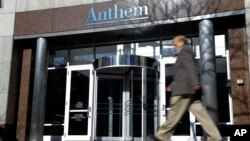 安瑟姆(Anthem)健保公司本星期說,黑客已經深入到了該公司的數據庫