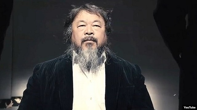 Ai Weiwei rock music video