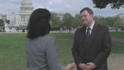 Assistant Secretary of State for Public Affairs Mike Hammer talks to VOA Uzbek