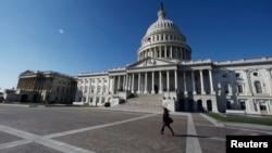 미국 워싱턴 DC의 의회 건물 (자료사진)