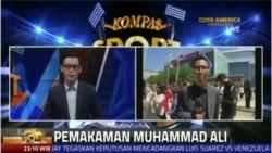 Laporan Langsung VOA untuk Kompas Sport: Pemakaman Muhammad Ali