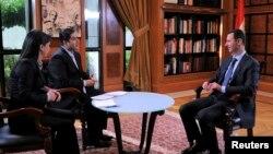 Serokê Sûrîyê di hevpeyvîna bi televîzyona Al Ikhbariya de xwane dibe