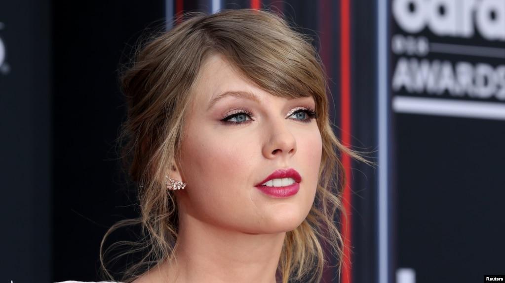 Archivo - La cantante Taylor Swift durante los Premios Billboard Music Awards en Las Vegas, Nevada, el 20 de mayo de 2018.