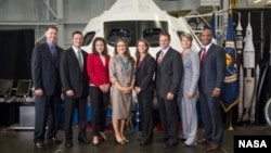 The eight newest members of NASA's 2013 Astronaut Class.