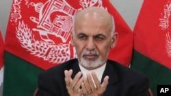 جمهور رئیس غني وايي نړیواله ټولنه مرسته کوي خو افغانان باید پخپلو پښو ودریږي