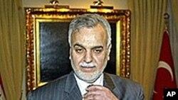 伊拉克副总统哈希米(资料照片)