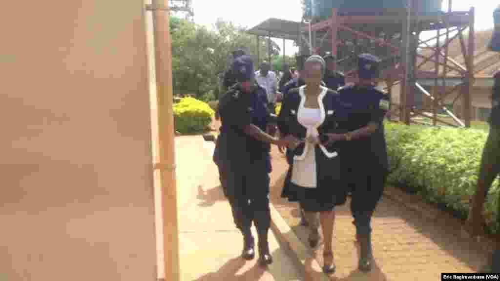 Adeline Rwigara agezwa mu rukiko