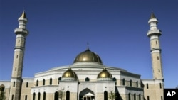 The Islamic Center of America mosque in Dearborn, Michigan (file photo)
