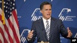美國共和黨的羅姆尼宣佈參加2012年美國總統競選