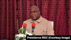 Rais Félix Tshisekedi wa Jamhuri ya Kidemokrasi ya Congo-DRC