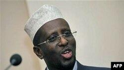 Tổng thống Sheikh Sharif Sheikh Amed của chính phủ lâm thời Somalia