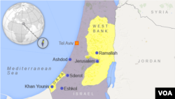 Intara ya Cisjordaniya kw'ikarata