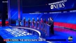 Quatrième débat démocrate en vue de la primaire