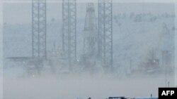 """Arhivski snimak naftne platforme """"Kolskaja"""""""