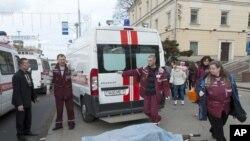 11 νεκροί από επίθεση στο Μετρό του Μίνσκ