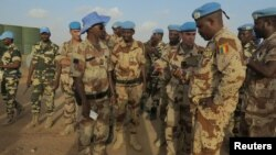Soldados da ONU no Mali