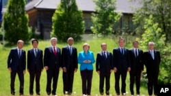 Obama US Germany G-7