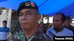 Panglima Divisi Infantri 2 Kostrad, Mayjen TNI Bambang Haryanto (Foto:VOA/Yoanes Litha)