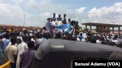 Gangamin marabtar shugaba Buhari a Jimeta