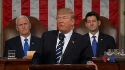 Президент Трамп сьогодні виголосить у Конгресі своє послання про стан держави. Відео