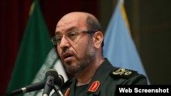 حسین دهقان وزیر دفاع دولت حسن روحانی