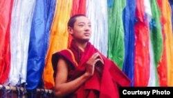 藏族抗议者格桑旺多(照片由听众提供给自由亚洲电台,日期不明)