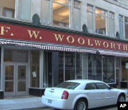 The old Woolworth's store is now home to the International Civil Rights Museum in Greensboro, North Carolina.