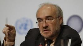 Michel Jarraud, Secretary-General of the World Meteorological Organization (file)