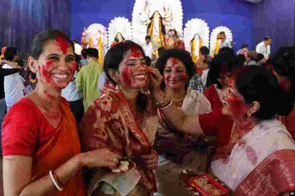 جشنواره «دورگا پوجا» در هند