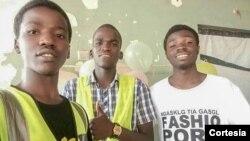 Integrantes do Movimento Solidário de Moçambique/Beira