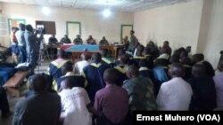 Reportage d'Ernest Muhero, envoyé spécial à Kavumu pour VOA Afrique