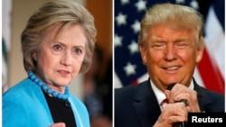 La pequeña ventaja de la candidata demócrata sobre el republicano entre los votantes probables está dentro de los 4,5 puntos porcentuales que son el margen de error del sondeo.