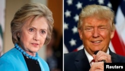 川普對抗克林頓