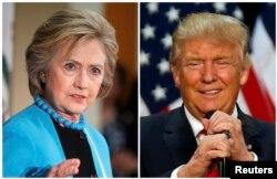 Hillari Klinton və Donald Tramp