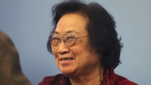 FILE - Pharmacologist Tu Youyou joined William Campbell and Satoshi Omura in winning the 2015 Nobel prize for medicine or physiology for their work against parasitic diseases.