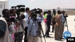 Waandishi wa habari nchini Somalia.
