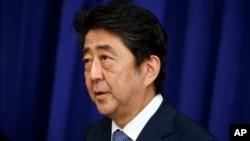Abe busca apoyo para una postura dura frente a las reiteradas amenazas de lanzamientos de misiles y ensayos nucleares de Corea del Norte.