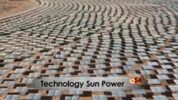 Solar power and molten metal for energy efficiency