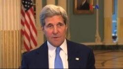 ABD Dışişleri Bakanı Kerry Afrika'da