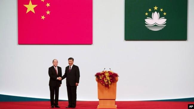 分析稱中國領導人誇澳門一國兩製成功對港台不具吸引力