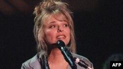 La chanteuse française France Gall à Paris, le 12 septembre 1993.