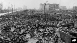 بم اتم تقریباً تمام هیروشیما را تخریب کرد.